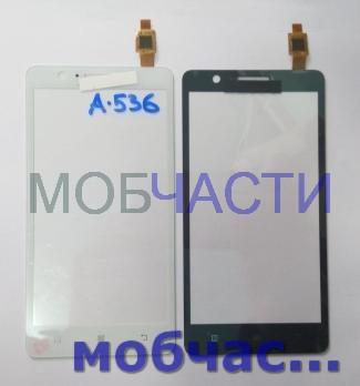 Тачскрин Lenovo A536, черный