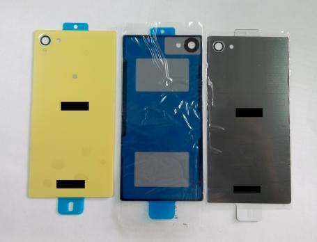 Задняя крышка Sony Xperia Z5 compact, E5803, E5823, серая темная