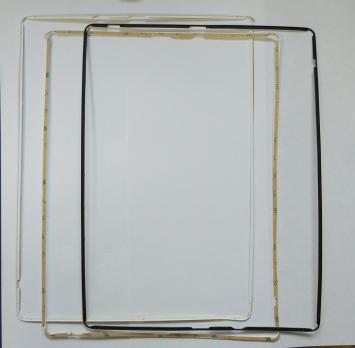 Внешняя рамка iPad 2,  A1395, A1396, A1397, черная