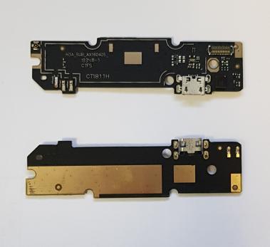 Шлейф с разъемом зарядки и микрофоном Xiaomi Redmi Note 3