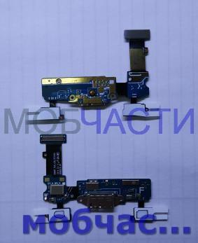 Шлейф Samsung Galaxy S5, SM G900f, с разъемом зарядки
