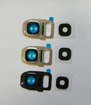 Стекло камеры Samsung Galaxy S7, SM G930, белое