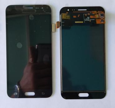 Дисплей с сенсором Samsung Galaxy J3, SM J320f, черный, TFT, с регулировкой яркости