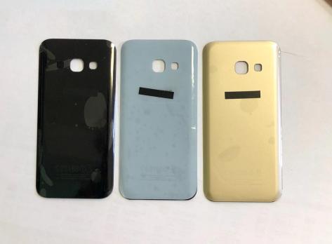 Задняя крышка Samsung Galaxy A3, 2017, A320f, черная