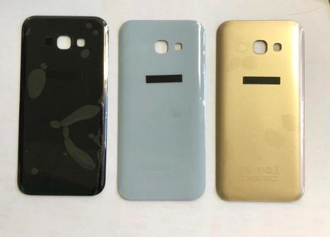 Задняя крышка Samsung Galaxy A5 2017, SM A520f, голубая