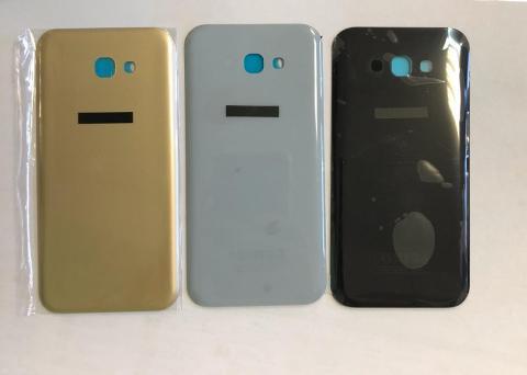 Задняя крышка Samsung Galaxy A7 2017, SM A720f, золотистая