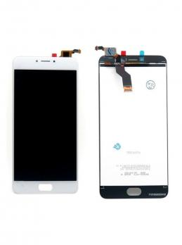 Дисплей с сенсором Meizu M3 Note, L681h, белый