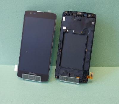 Дисплей с сенсором LG K8, K350e, черный