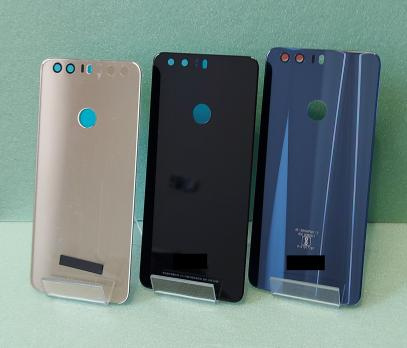 Задняя крышка Huawei Honor 8, FRD-L09, черная, копия