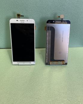Дисплей с сенсором Asus Zenfone 3 Max, ZC550KL, белый.
