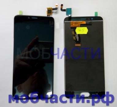 Дисплей с сенсором Meizu M5, M611a, m611h, черный