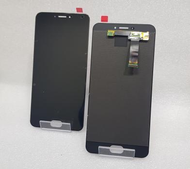 Дисплей с сенсором Meizu MX6, m685h, m685q, Oled, черный