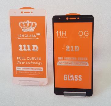 Защитное стекло 5d, для Xiaomi Redmi Note 4x, черное