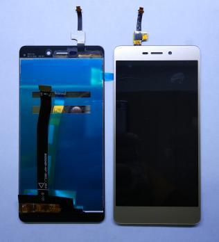 Дисплей с сенсором Xiaomi Redmi 3, Redmi 3 Pro, Redmi 3s, Redmi 3x, золотистый