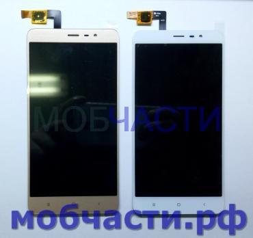 Дисплей с сенсором Xiaomi Redmi Note 3, Note 3 Pro, 2015116, 2015161, белый