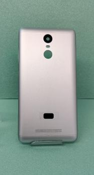 Задняя крышка Xiaomi Redmi Note 3, серебристая