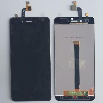 Дисплей с сенсором ZTE Nubia Z11 mini, черный.