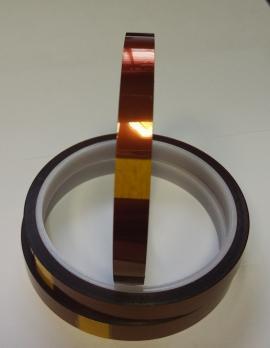 Термоскотч каптоновый, Ht Ly, ширина 1 см.