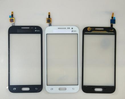 Сенсорное стекло (тачскрин) Samsung Galaxy Core Prime, SM G360, белый