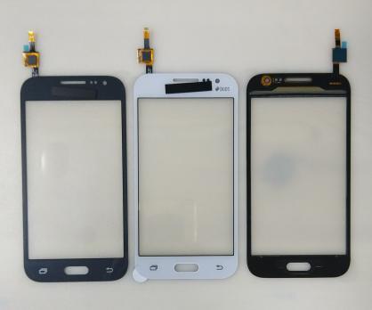 Сенсорное стекло (тачскрин) Samsung Galaxy Core Prime VE, SM G361, черный