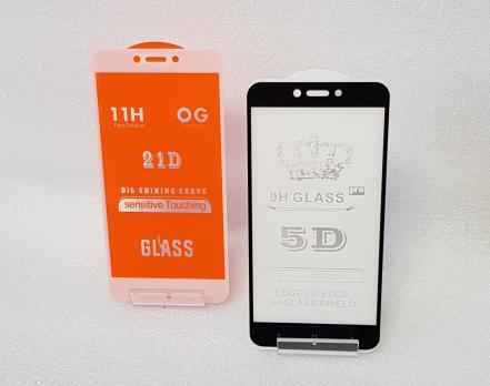 Защитное стекло 5d, для Xiaomi Redmi 4x, Redmi 5A, mcg3b, черное