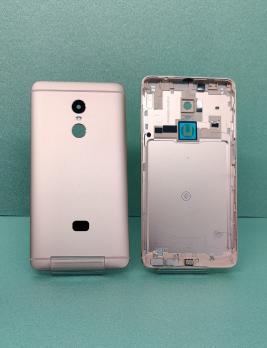 Задняя крышка Xiaomi Redmi Note 4, золотистая, (без стекла камеры с отверстиями под нижние крепежные винты)