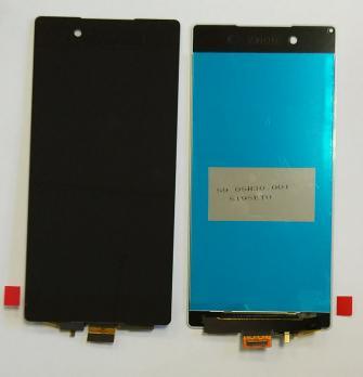Дисплей с сенсором Sony Xperia Z3 Plus, Z4, e6533, e6553, черный