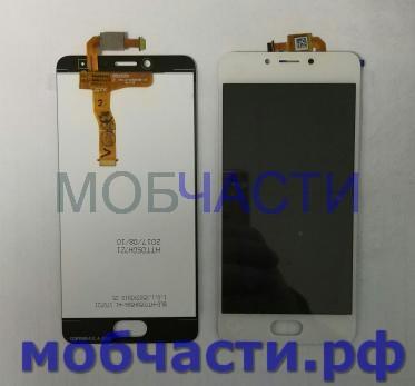 Дисплей с сенсором Meizu M5c, m710h, белый