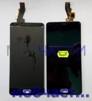 Дисплей с сенсором Meizu M3s mini, черный