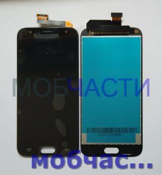 Дисплей с сенсором Samsung Galaxy J3, 2017 SM J330, черный