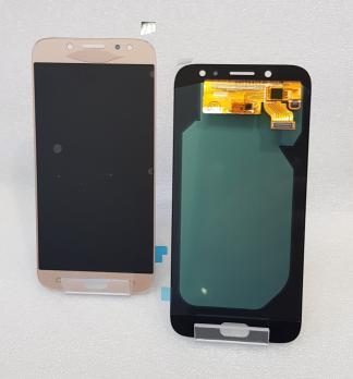 Дисплей с сенсором Samsung Galaxy J7 2017, SM J730, золото, Oled