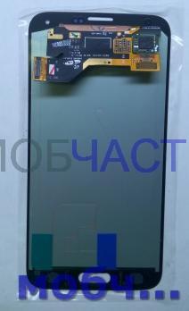 Дисплей с сенсором Samsung Galaxy S5, SM G900H/F белый, Amoled
