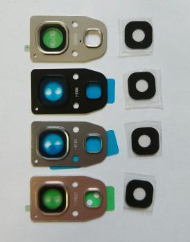 Стекло камеры Samsung Galaxy A320, A520, A720, золото.