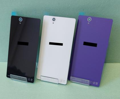 Задняя крышка Sony Xperia Z, C6603 черный