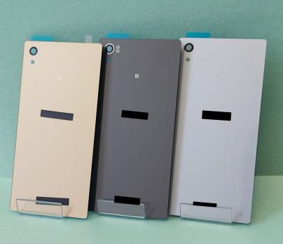 Задняя крышка Sony Xperia Z5, E6603, E6633, E6653, E6683, серая.
