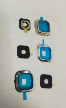 Стекло камеры Samsung Galaxy A300, A500, A700, белое.