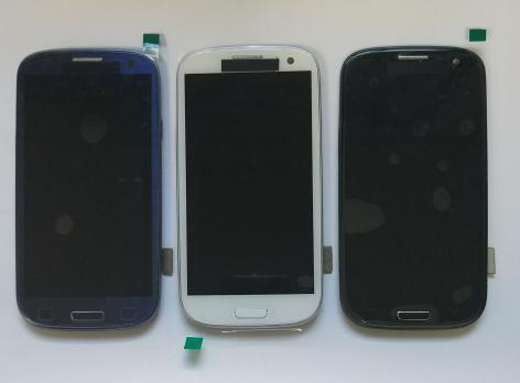Дисплей с сенсором SAMSUNG Galaxy S3, GT i9300 черный, Amoled.