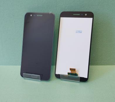 Дисплей с сенсором LG K10 2017, M250, черный.