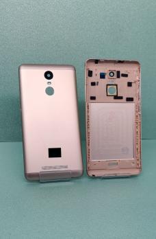 Задняя крышка Xiaomi Redmi Note 3, золотистая