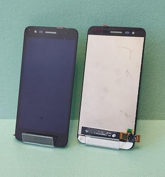 Дисплей с сенсором LG K7, 2017, X230, черный.