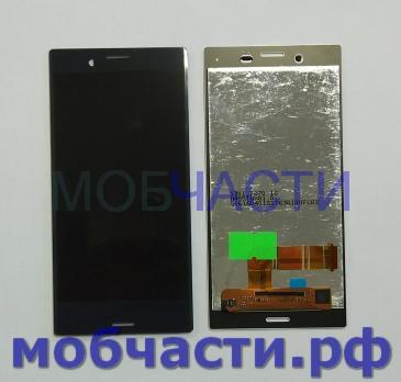 Дисплей с сенсором Sony Xperia X compact, F5321, черный