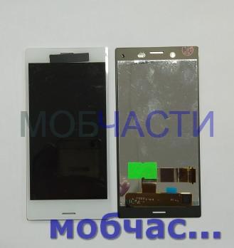 Дисплей с сенсором Sony Xperia X compact, F5321, белый