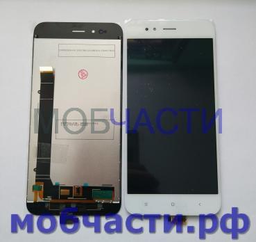 Дисплей с сенсором Xiaomi Mi 5x, Mi A1, mdg2, mde2, mdt2, белый