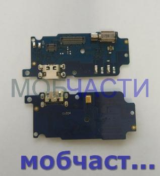 Нижняя плата с разъемом зарядки и микрофоном Meizu M5s, m612q, m612m