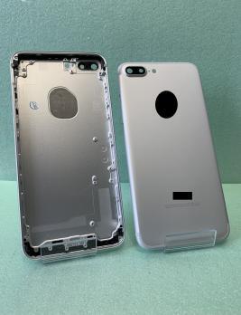 Корпус iPhone 7 Plus, серебро.