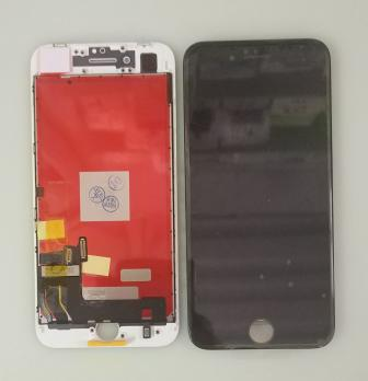 Дисплей с сенсором iPhone 8, iphone SE 2020, черный, переклеенная матрица
