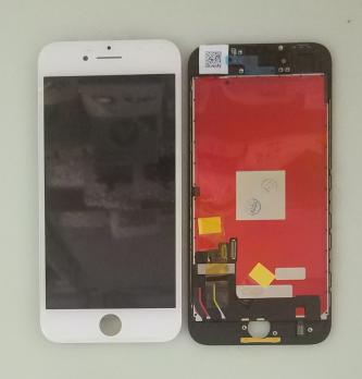 Дисплей с сенсором iPhone 8, iphone SE 2020, белый, переклеенная матрица