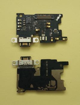 Нижняя плата с разъемом зарядки и микрофоном Xiaomi Mi 6, mce16