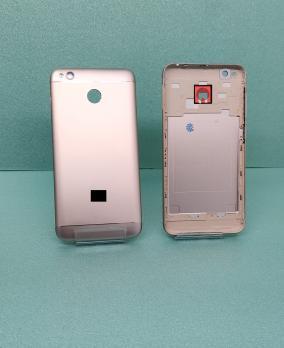 Задняя крышка (корпус) Xiaomi Redmi 4X, золото