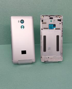Задняя крышка (корпус) Xiaomi Redmi 4 Pro, серебро